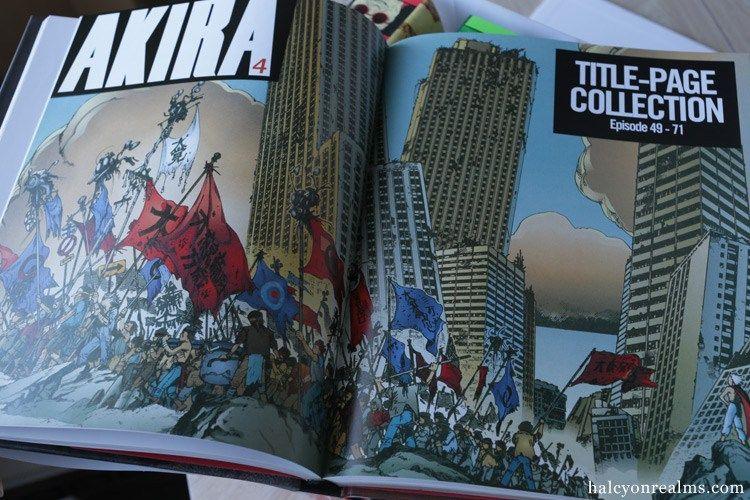 Akira 35th Anniversary Box Set Manga Review Halcyon Realms Art Book Reviews Anime Manga Film Photography 35th Anniversary Boxset Akira