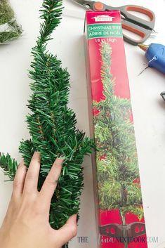 Photo of DIY Dollar Tree Christmas Trees – The Latina Next Door