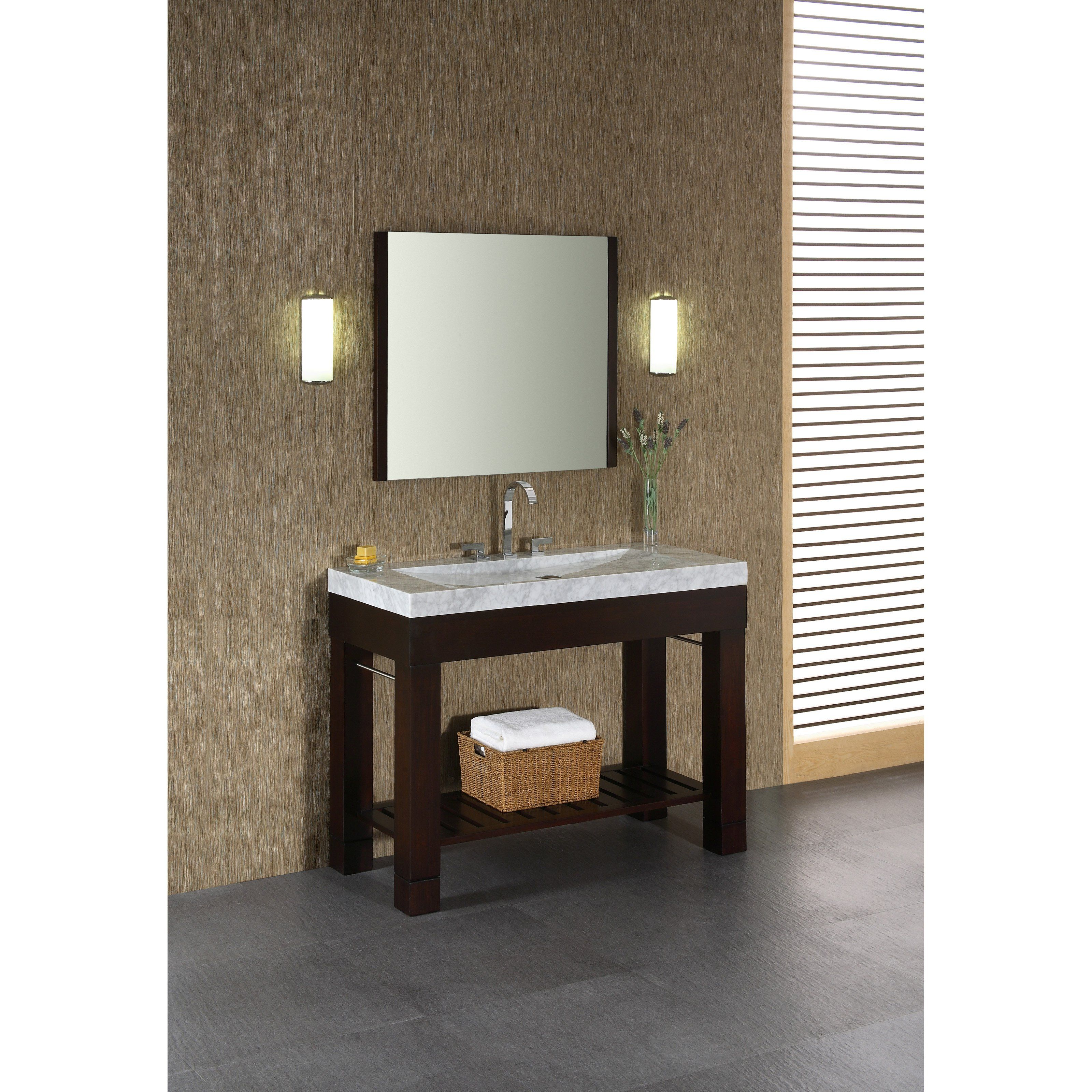 Have To Have It Xylem Europa 48 In Single Bathroom Vanity With Stone Top And Optional Mirror 2036 99 Muebles Europa