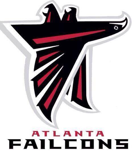 Funny Falcons Logo Falcon Logo Atlanta Falcons Logo Logos