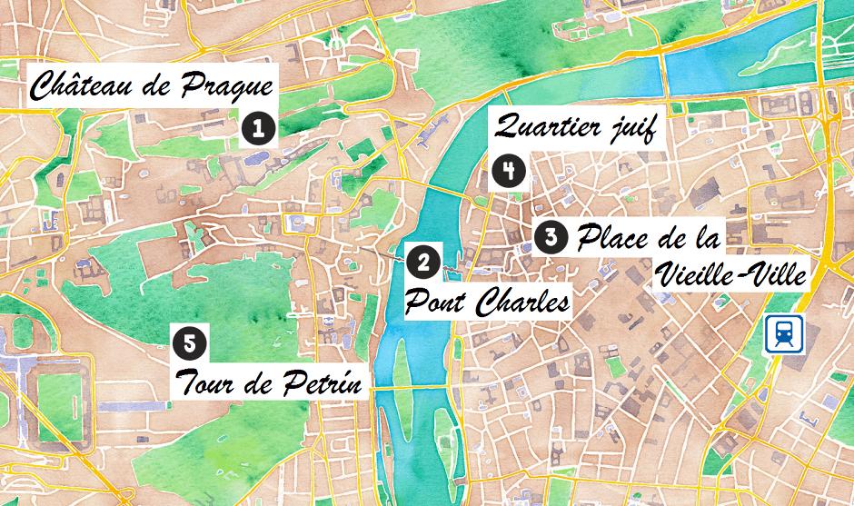 Visiter Prague En Trois Jours Les 5 Lieux A Voir Absolument Carigami Visiter Prague Prague Voyage A Prague