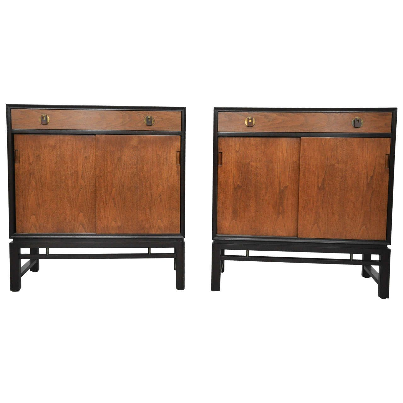 Pair Of Dunbar Chests By Edward Wormley 1 Mid Century Modern