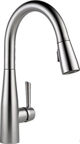 Delta Essa Single Handle Pull Down Sprayer Kitchen Faucet With
