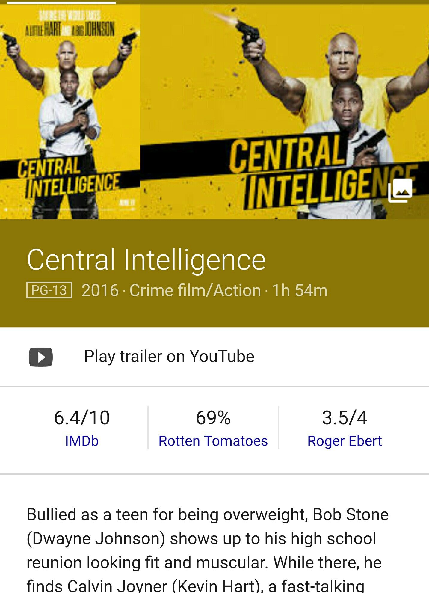#watching #centralintelligence #bdcrmovies #movie #PortlandOregon