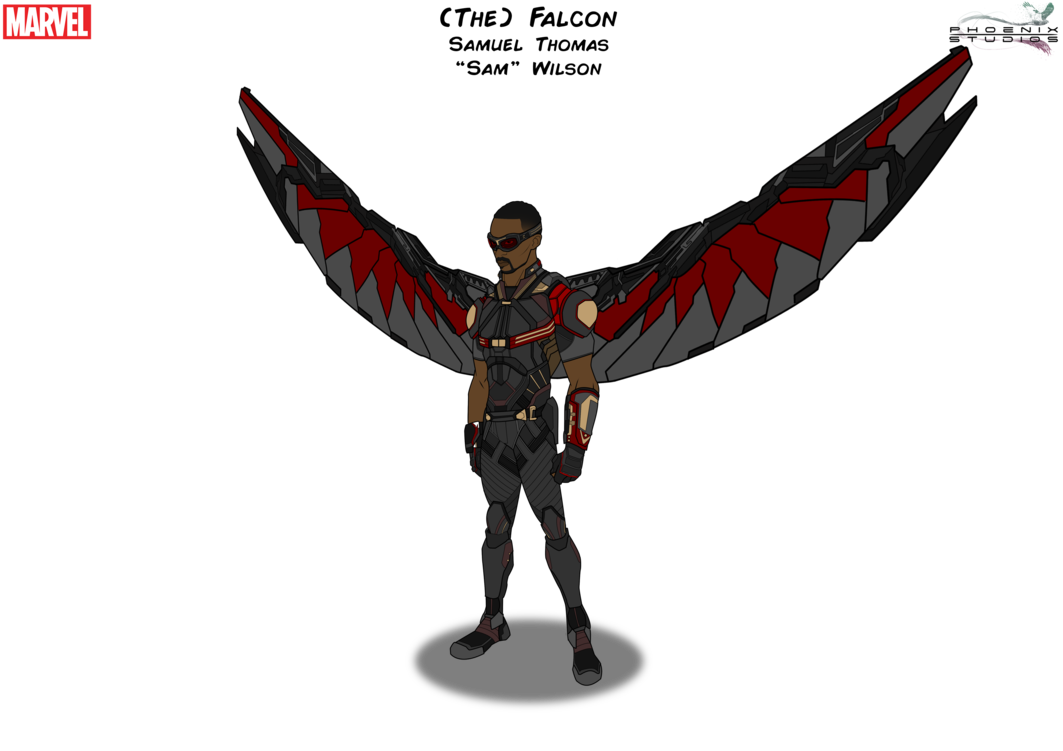 The Falcon With Wings By Phoenixstudios91 Marvel Characters Art Falcon Marvel Avengers Superheroes