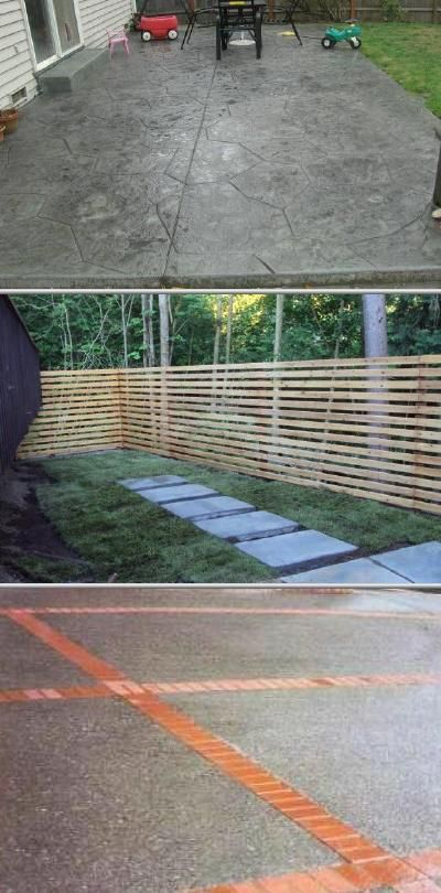This Concrete Repair Company Offers Concrete Demolitions And Replacements They Work On Aggregate And Stamped Concrete Dr Stamped Concrete Driveway Yard Project