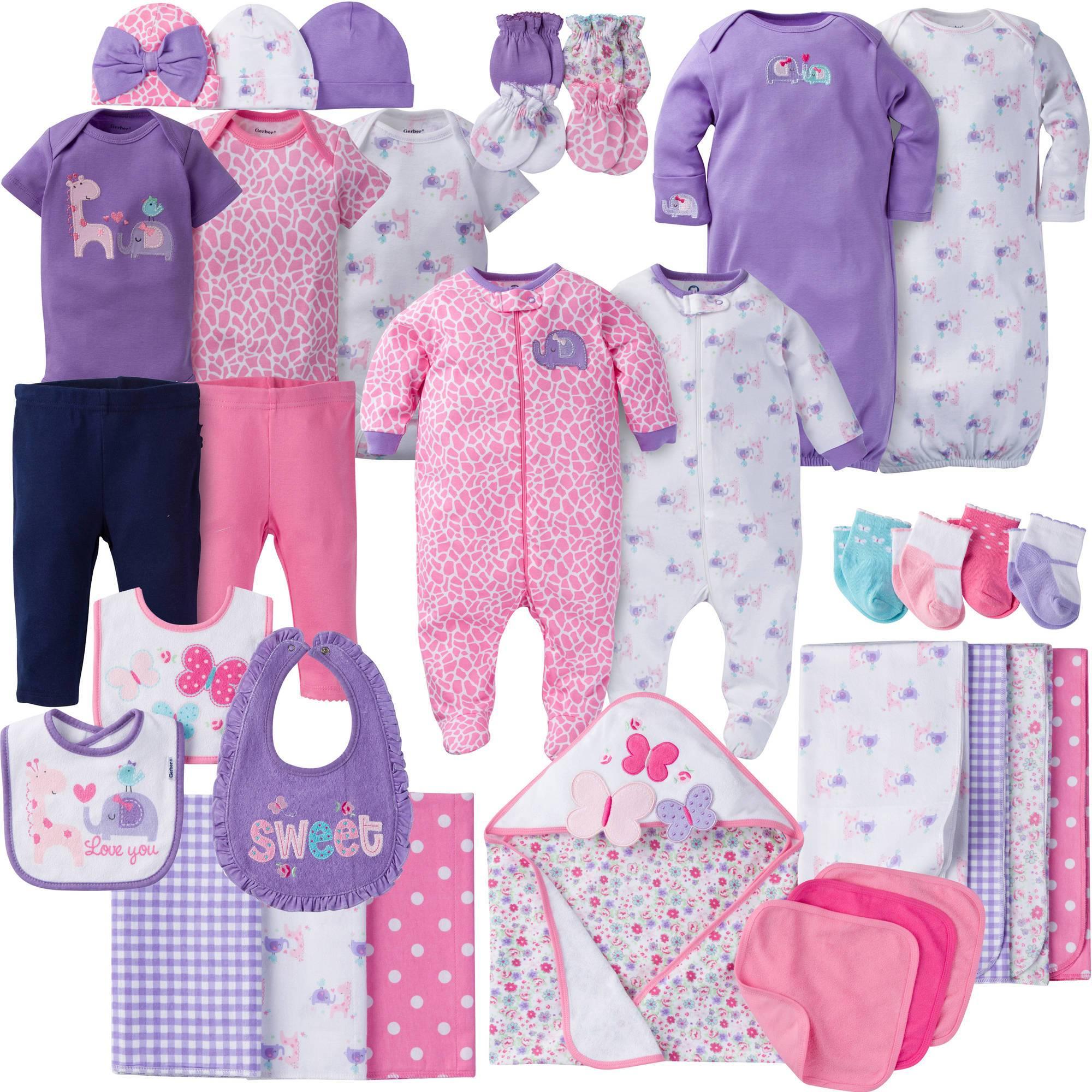 Gerber newborn baby girl perfect baby shower gift layette