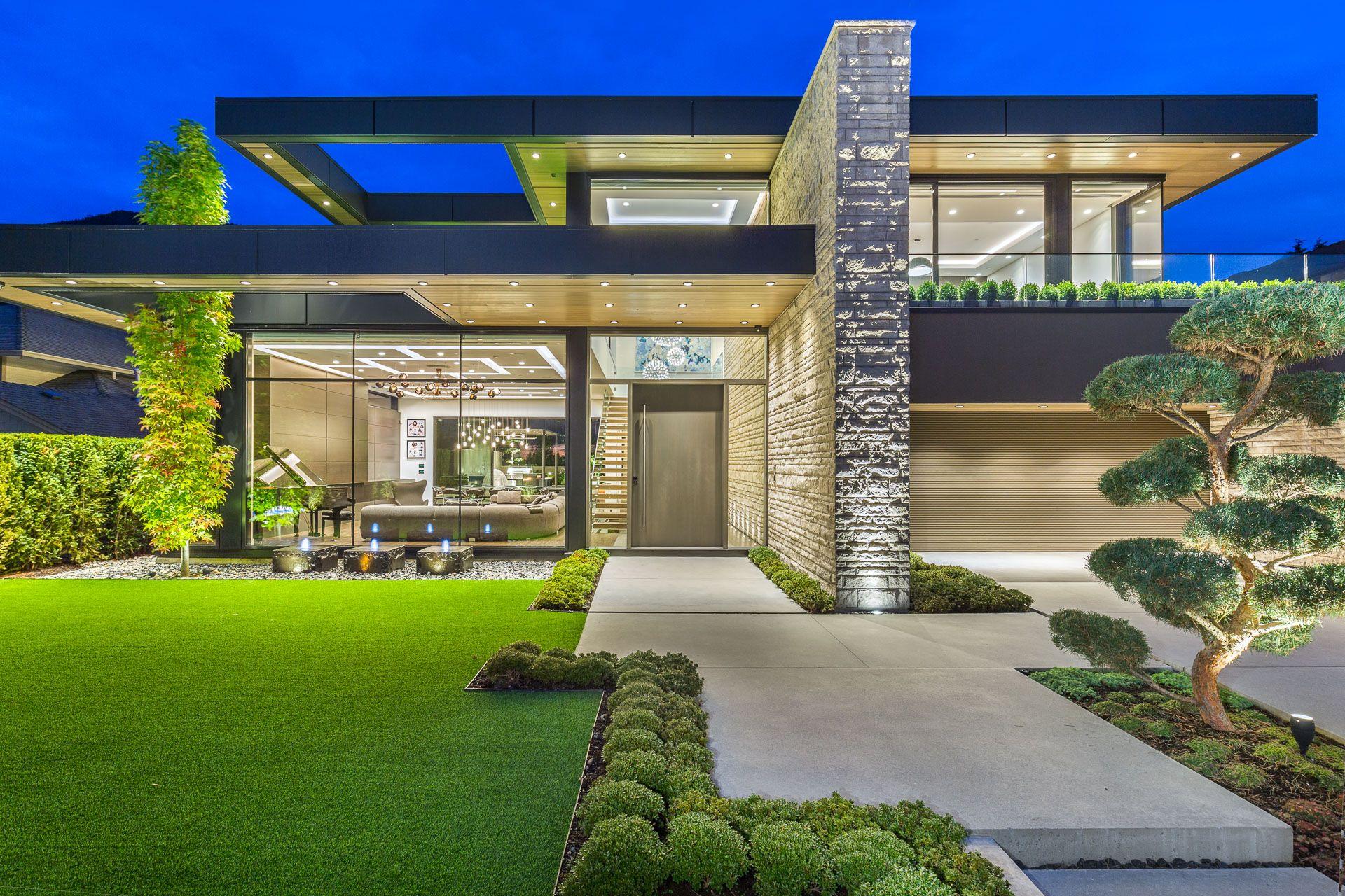 Marblebc Canadian House Modern Family House House Design