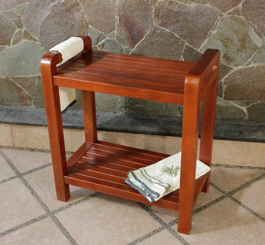 Bathroom Benches And Chairs | Bathroom Decor | Pinterest | Bathroom ...