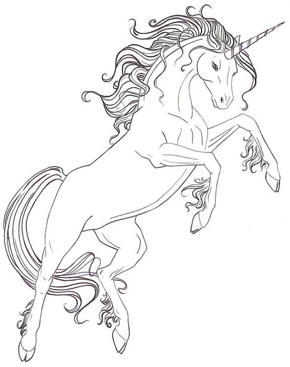 Adult Coloring Pages Free Coloring Page Unicorn Coloring ...