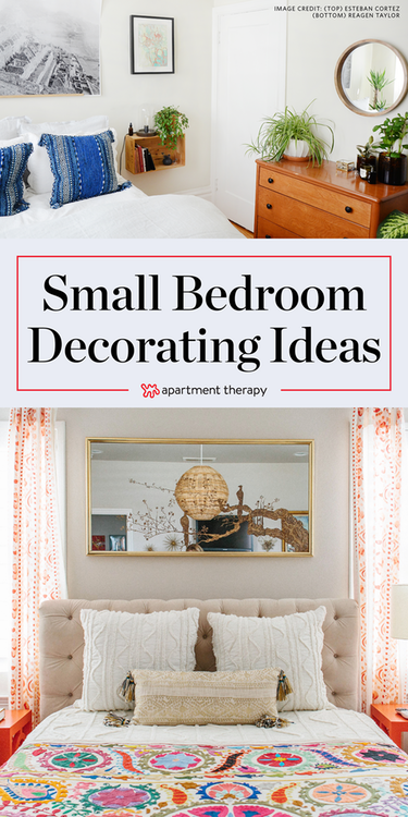Clever Space Saving Solutions For Small Bedrooms Small Bedroom Decor Apartment Therapy Small Spaces Small Guest Bedroom