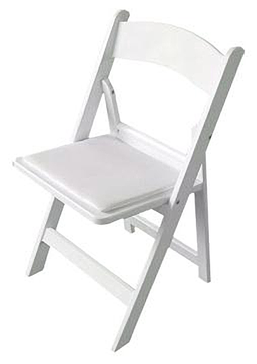wooded padded folding chair wedding inspirations pinterest