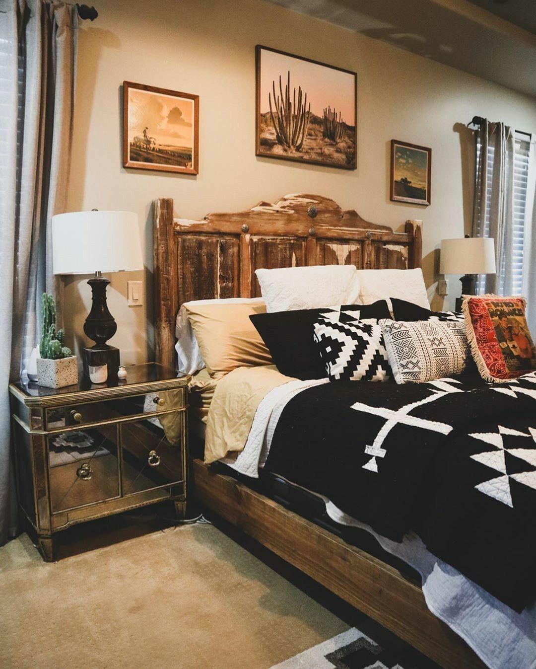 Pin by Mélissa Bachmann on Home Decor 12   Western bedroom decor ...