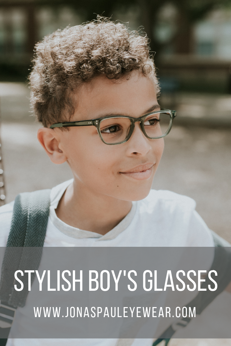 1b6c5b1cc0cb Limited Edition Kids Glasses    The Lincoln Forest. Stylish green boy s  glasses for your son. Fashionable eyewear with a purpose!