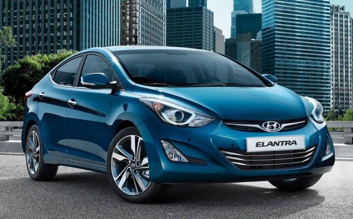كراء السيارات الدار البيضاء New Hyundai Hyundai Elantra Elantra