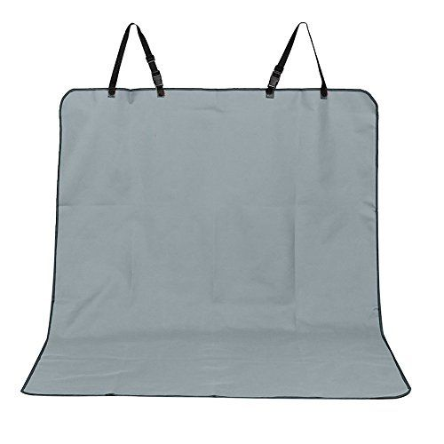 Lalawow Pet Car Seat Cover Waterproof and Machine Washable Car Bench Seat Cover For Pets Grey *** See this great product.