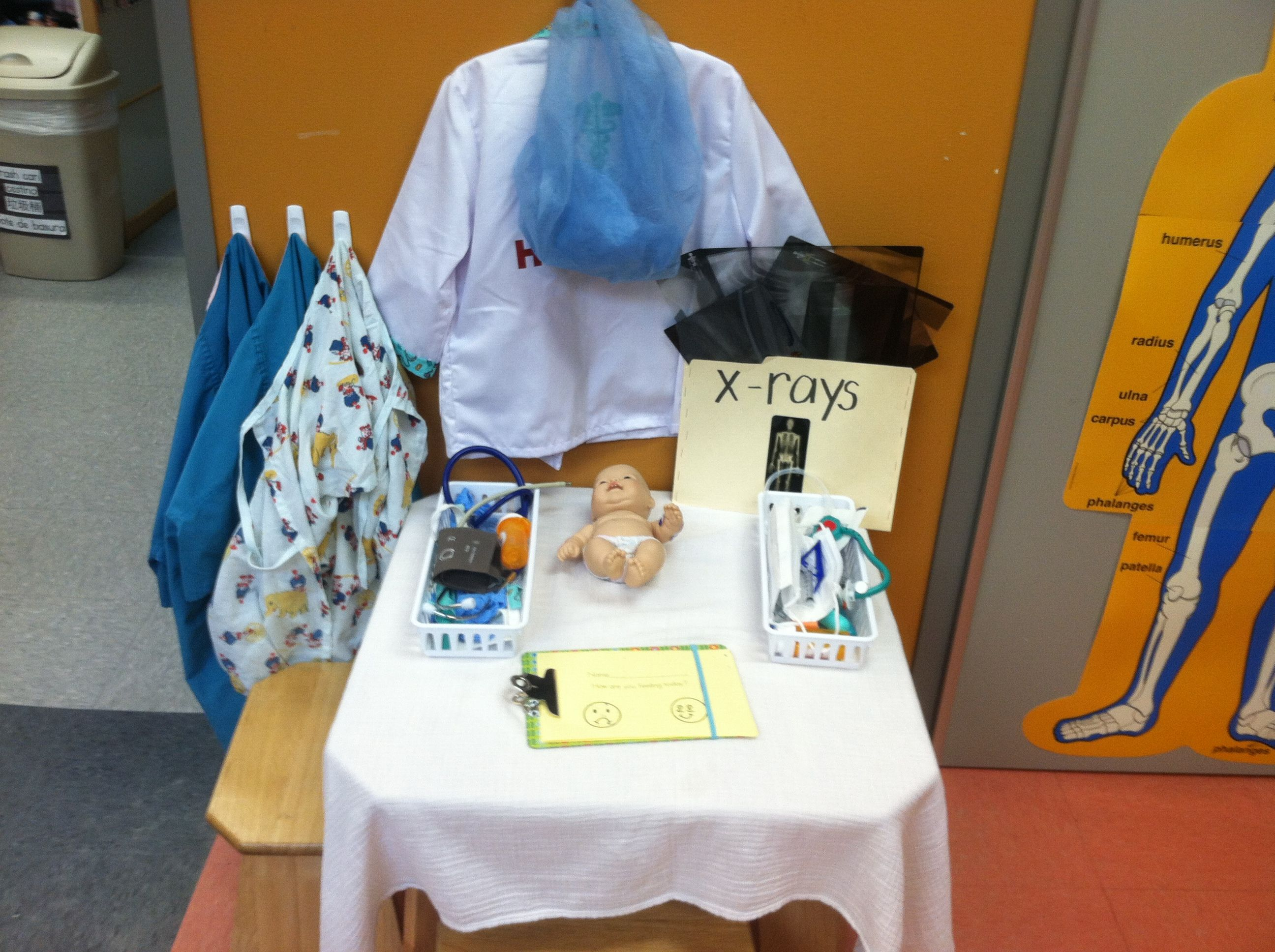 Dramatic Play Doctors Office