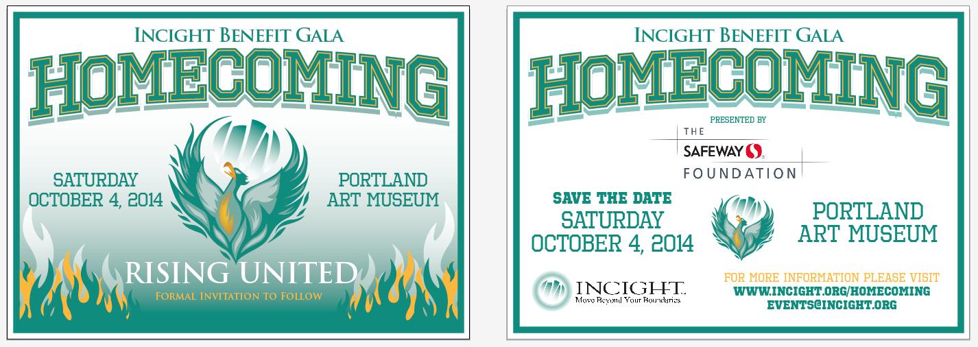Wedding Invitations Portland Oregon: Homecoming Invitation Example: Incight's Upcoming Gala On