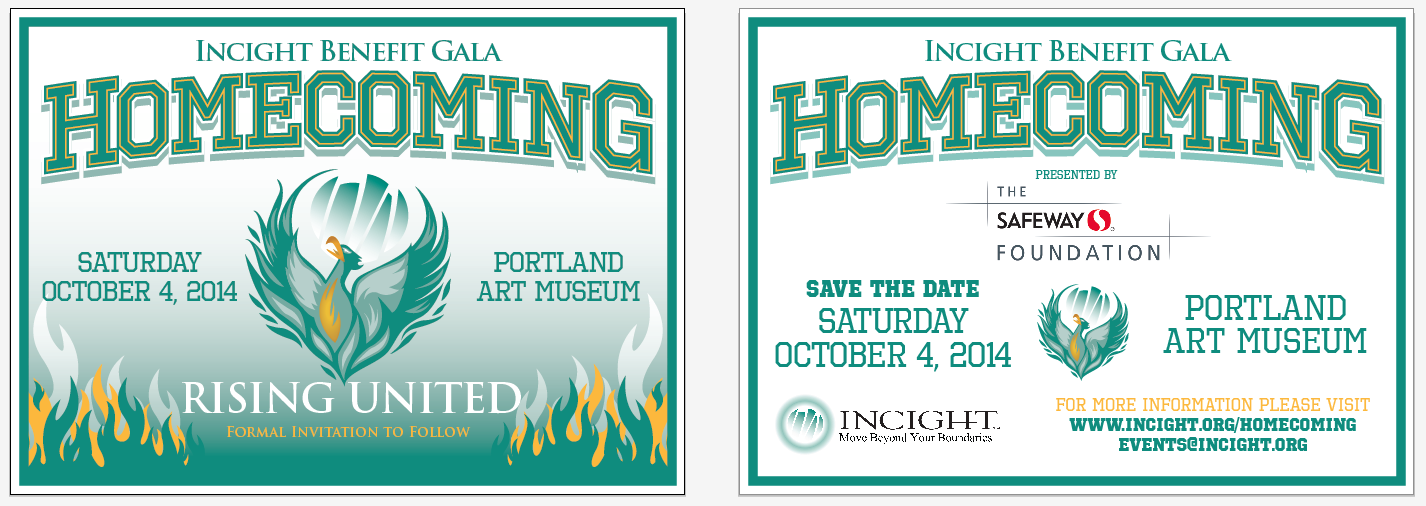 Homecoming Invitation Example Incight S Upcoming Gala On 10 4 In