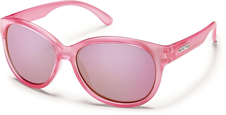 Suncloud Catnip Polarized Polycarbonate Sunglasses (Pink