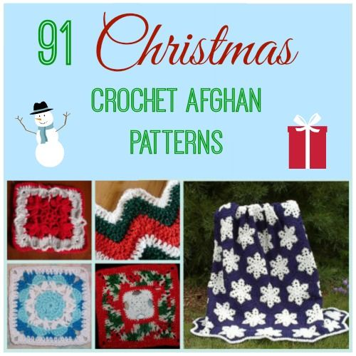 91 Christmas Crochet Afghan Patterns Knitted And Crocheted
