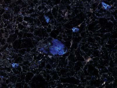 Volga Blue Granite Countertops Kitchen