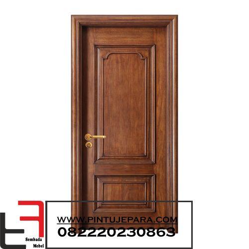 Classic Single Teak Doors