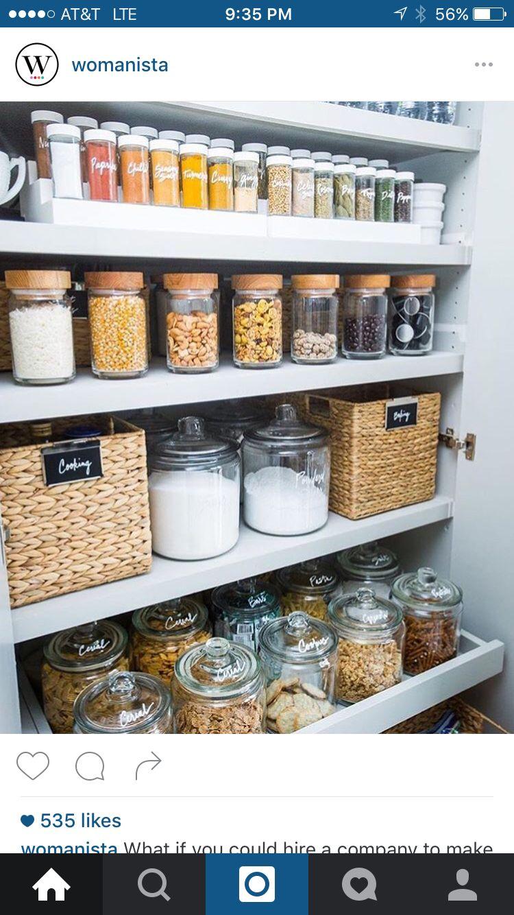 Pin von Kelsey Newell auf Organization | Pinterest | Küche