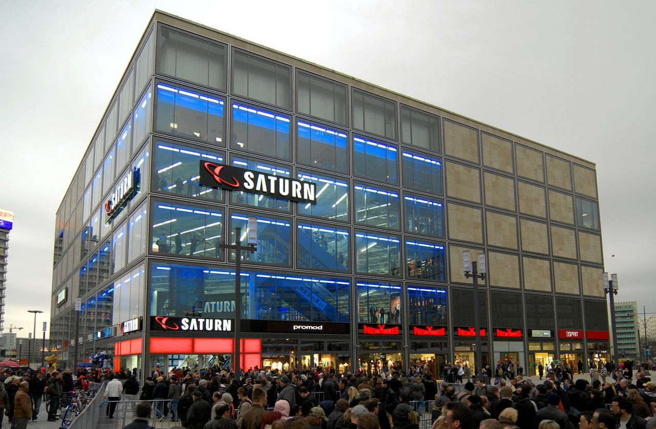 Saturn Store In Alexanderplatz Berlin Berlin City Hall The Neighbourhood