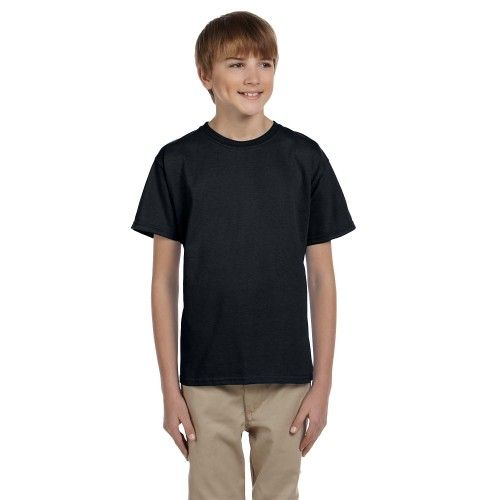 100 Fruit Of The Loom Kids Childrens Plain WHITE T-Shirts//Tee Shirts Wholesale