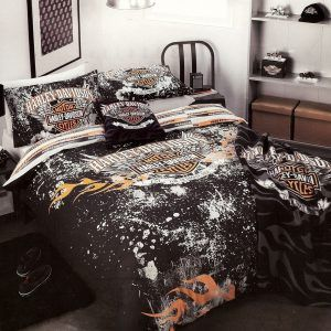 Charmant Harley Davidson Bed Set Twin