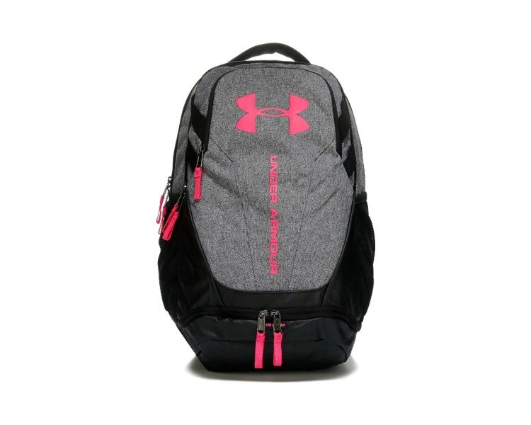 timeless design 2863d 3eea3 Enter your adventures prepared with the Hustle 3.0 Backpack from Under  Armour.Polyester and nylonTop grab handle with zipper entryFront pockets  are ...