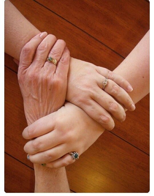 3 Generations Joined Together Mom Daughter Photos Mother