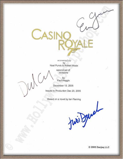 Casino royale original script isle of capri hotel casino black hawk
