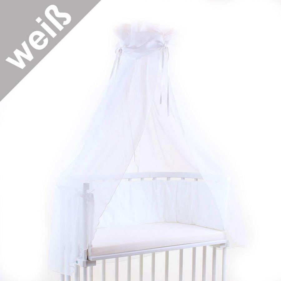 Tobi Babybay Himmel Weiss Weiss Inkl Himmelstange 33 20 Babyzimmer