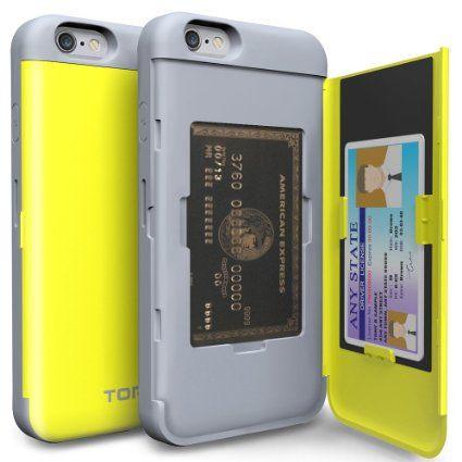 new concept 31f23 869be Amazon.com: iPhone 6S Plus Case, TORU [CX PRO] iPhone 6 Plus Wallet ...