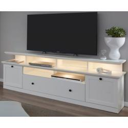 600+ Tv lowboard Baxter in weiß Landhaus 177 cm trendteam
