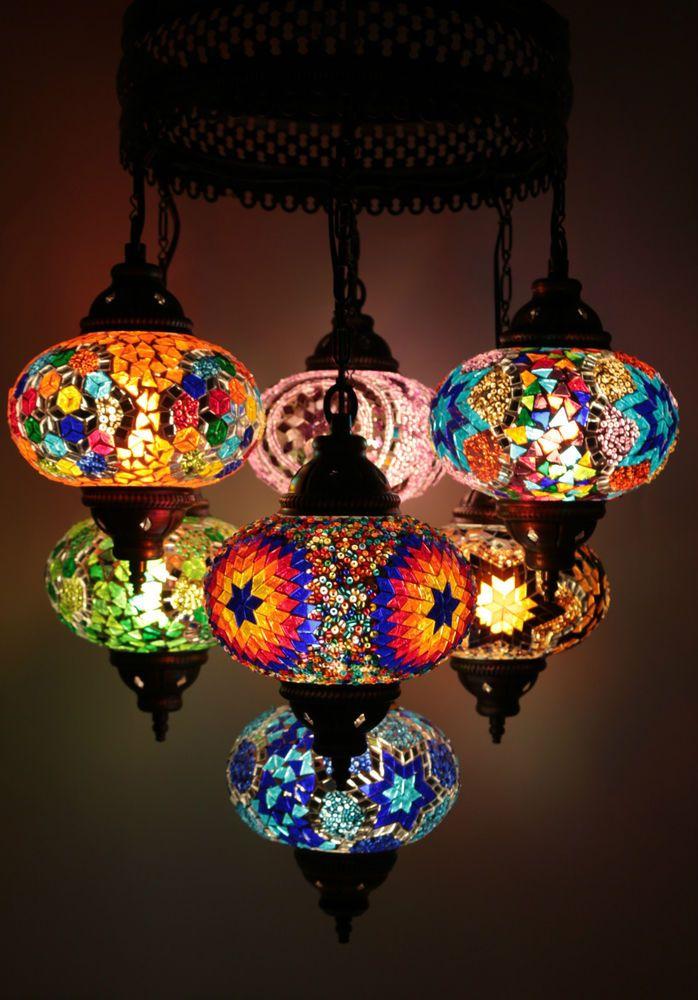 turkish style lighting. multicolour turkish mosaic hanging lamp light hand made 7 large globe style lighting l