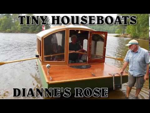Houseboats Tiny Houseboat Builds Youtube House Boat