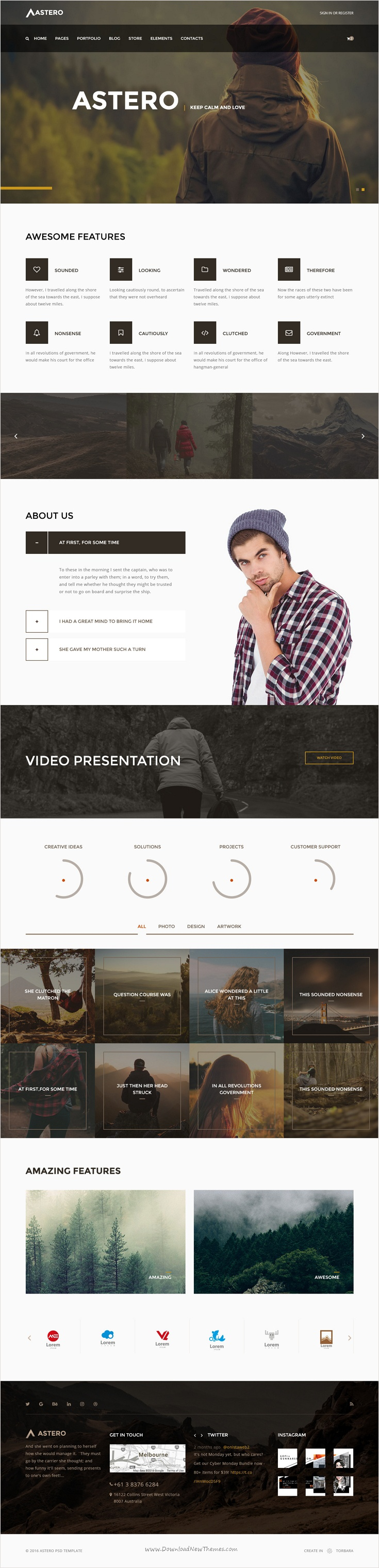 wedding invitation template themeforest%0A Astero is incredibly robust and flexible Bootstrap  HTML template for   business  corporate