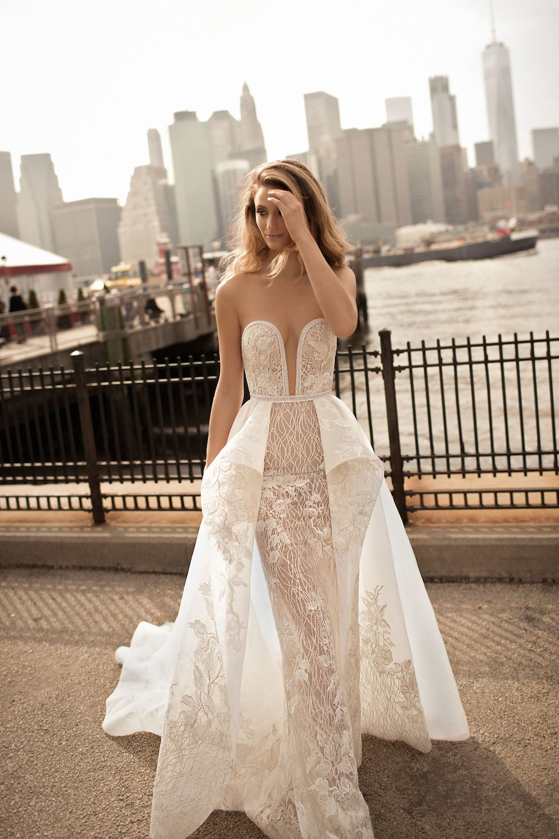 World exclusive berta wedding dress collection sexy we and