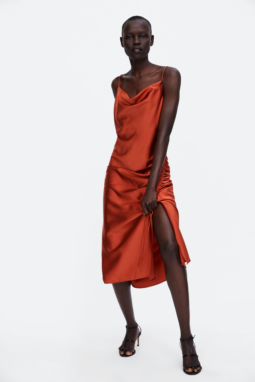 3cee1d30a5c1 ZARA - WOMAN - SATIN CAMISOLE DRESS
