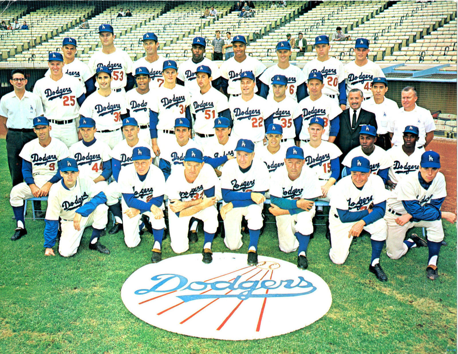 1963 Los Angeles Dodgers Team 8x10 Photo Koufax Wills California Baseball Mlb Dodgers Los Angeles Dodgers Dodgers Baseball