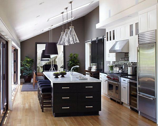 50 Ideen für Kücheneinrichtung und Küchenmöbel mit einem