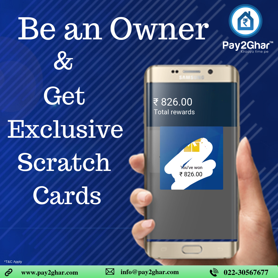 Why only Tenants? We Offer Owners too  Download our app and enroll