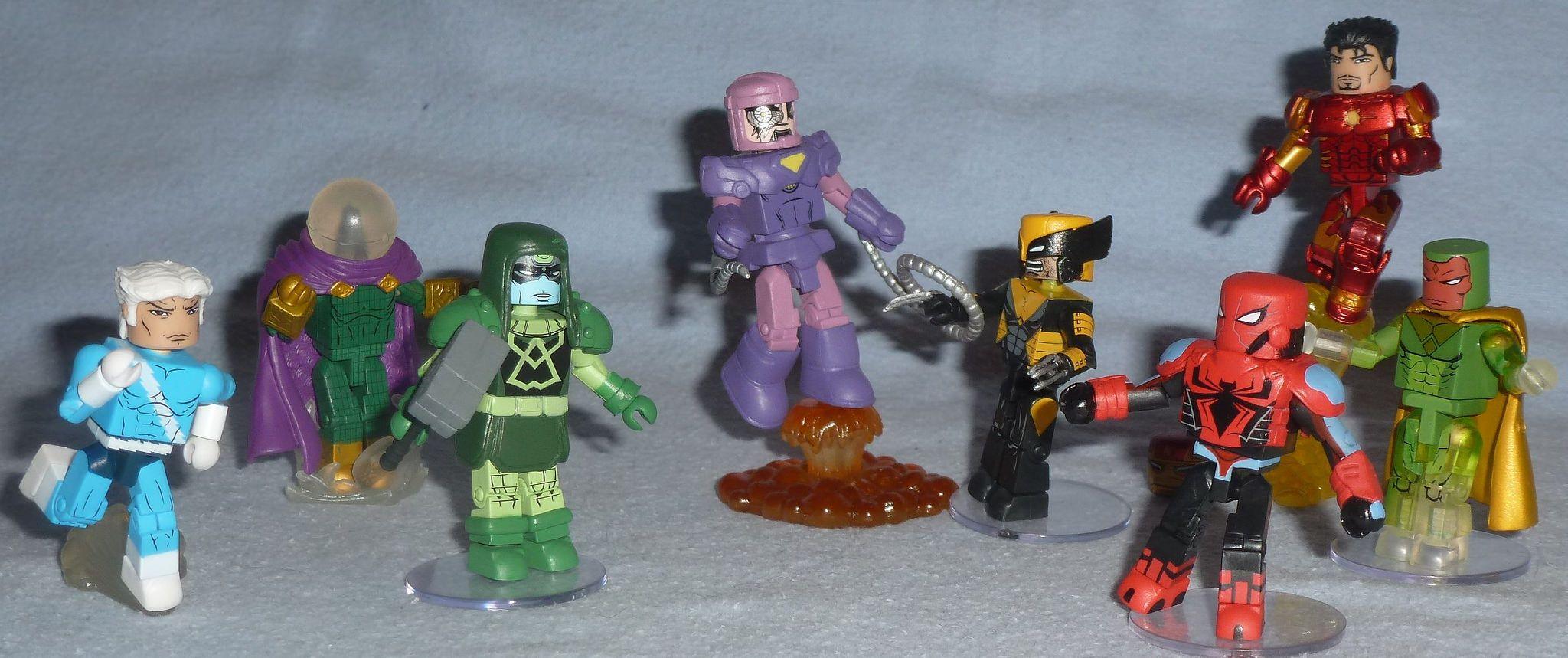 Toys & Hobbies Action Figures Marvel Minimates Tru Toys R Us Wave 2 Green Goblin