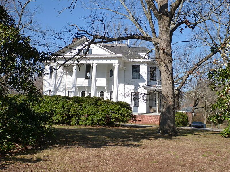 ZuberJarrell House Flat Shoals Road Atlanta in DeKalb