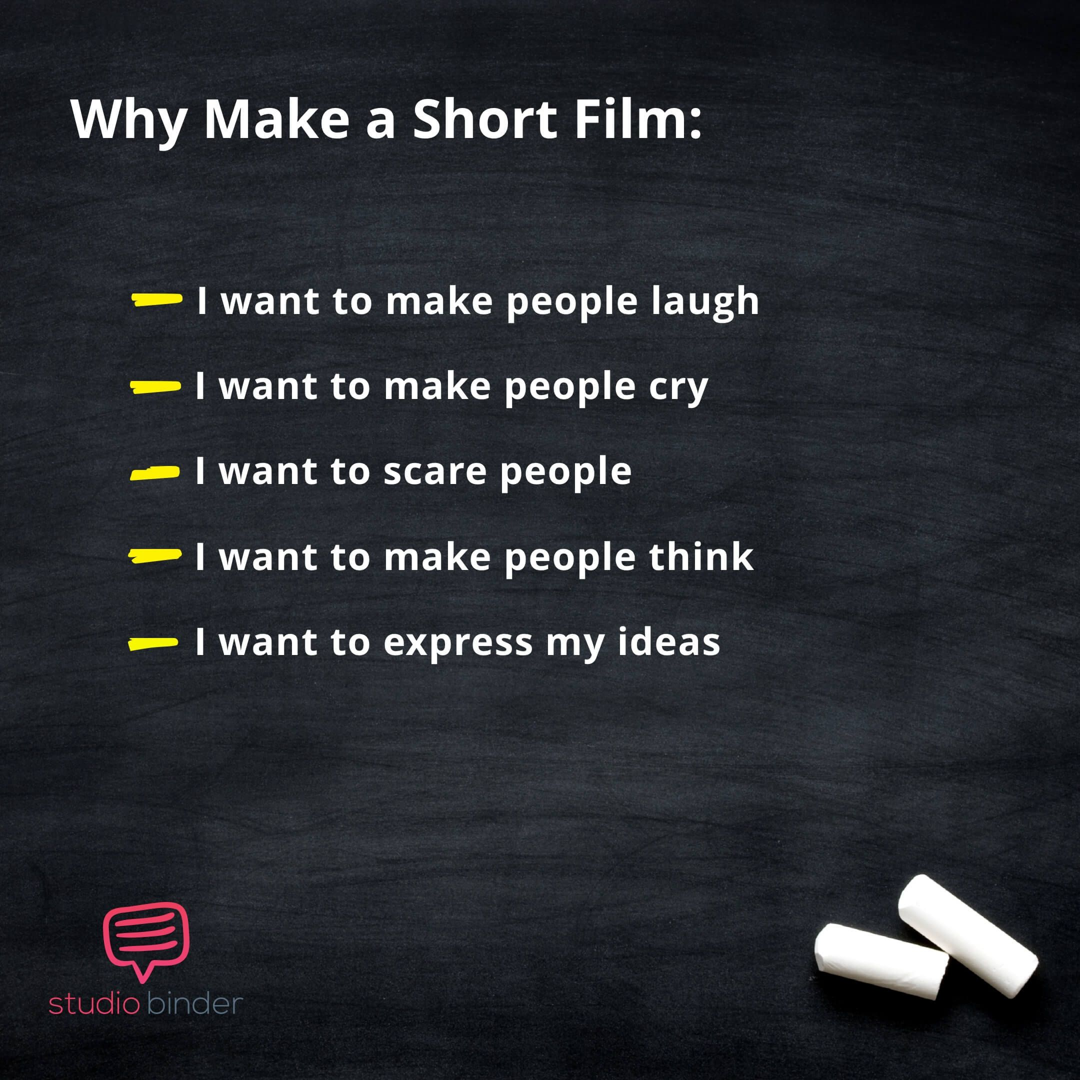 how to find short film ideas that will level-up your career