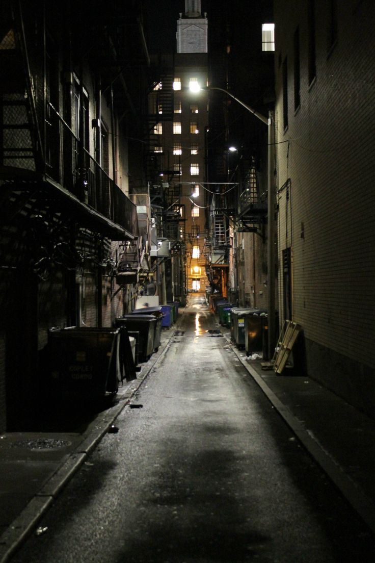 Image Result For Dark City Alleyway Town City Streets In