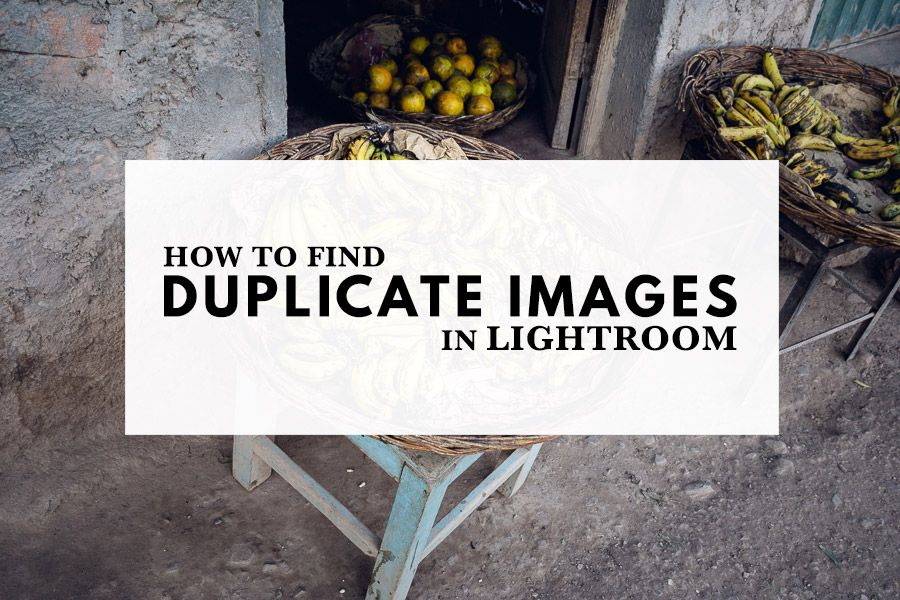 How to duplicate photos in lightroom